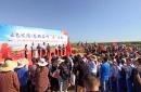 日照市东港区后村镇2019年农民丰收节暨大后村村甘薯节开幕