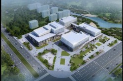 阳信:总投资3.2亿元文化中心主体工程竣工
